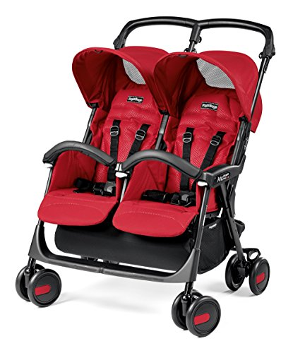 Peg Perego DASTA1MRED Zwillingsbuggy Aria Shopper Twin, mod red
