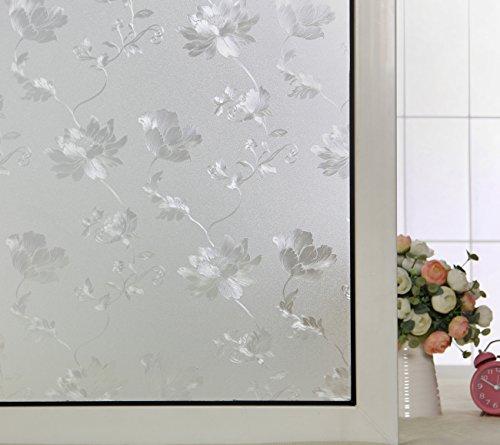 ABO Pellicola per finestre, Pellicola decorativa non adesiva, 45*200CM,