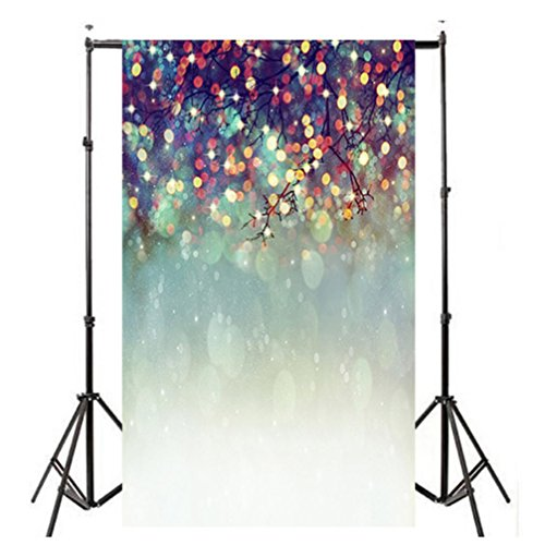 DIKEWANG (90*150CM) Rich Patterns Realistic Lover Dreamlike Glitter Haloes Photography Background Studio Props Backdrop,Perfect for Photography,Parties,Bars