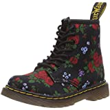Dr. Martens Brooklee Vintage Rose Midnight Lace Boot, Girls' Boat Shoes