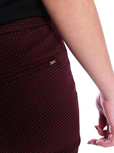 Gaudì Sigaretta Jacquard, Pantaloni Donna Nero