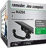 Rameder Attelage rotule démontable pour Mazda 3 + Faisceau 7 Broches (137096-08036-2-FR)