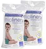 Bambino Mio, mioliners (voiles de protection) 160 x 2 pack de 2