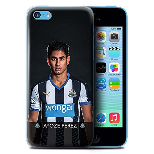 Officiel Newcastle United FC Coque / Etui pour Apple iPhone 5C / Haïdara Design / NUFC Joueur Football 15/16 Collection Ayoze