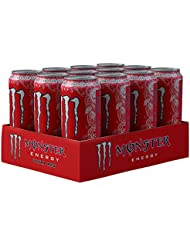Monster Ultra Red Energy Drink, 12 x 500 ml