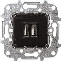 Niessen - Toma cargador usb doble 2x750ma/5v