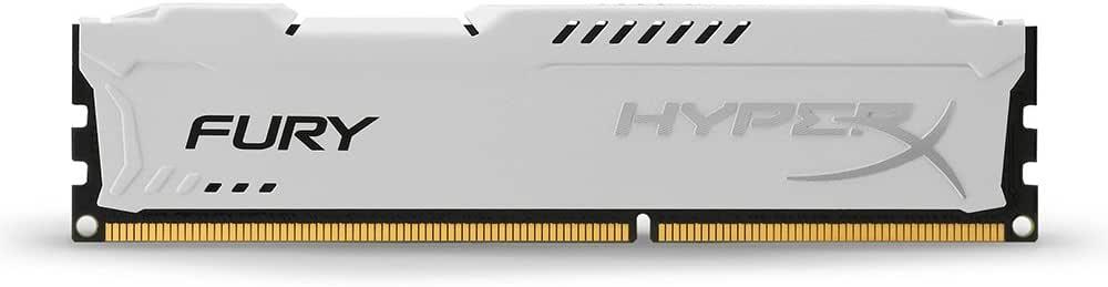 HyperX HX316C10FK2 / 8 Fury Blue RAM, DDR3, 8GB (Kit 2x 4GB), 1600MHz, CL10, 240-pin UDIMM