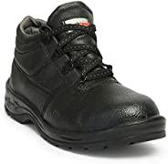 Hillson Rockland PVC Moulded Safety Shoe, Black