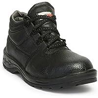 Hillson HLSN_RCKL_8 Rockland PVC Moulded Safety Shoe (Black, UK Size 8)