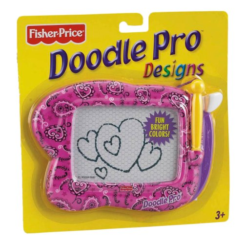 Fisher Price K3269 Doodle Pro Mini - Design Herzchen (ca. 19 x 13 cm) Fisher Price Doodle