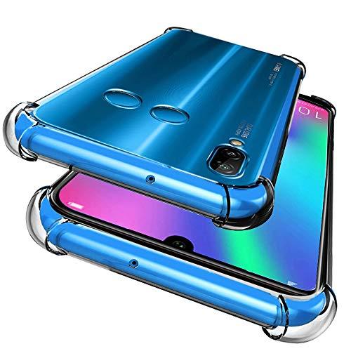DYIGO Cover per Samsung Galaxy A40,Custodia Cellulare TPU Altamente Trasparente,Nessuna deformazione,Resistente,Quattro Angoli addensati,Custodia del Telefono Anti-Goccia