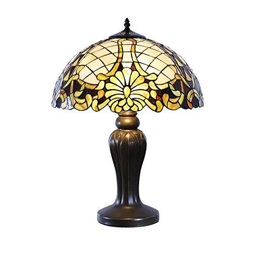 y Style, Tiff120, Tischlampe Libelle, Dekorationslampe, Tiffany Style, Glaslampe, Leuchte,Tischlampe, Stehleuchte, Stehlampe, Leuchte Lampe ()