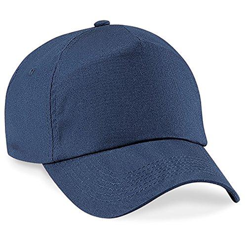 Navy Blue Baseball Cap Hut (4sold Junior Original 5 Panel Cap Unisex Jungen Mädchen Mütze Baseball Cap Hut Kinder Kappe (Navy Blue))