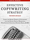 Effective Copywriting Strategy-for Money & Sales: Learn the secret formula copywriters use for Online Digital Marketing, Web Content Creation, Business ... copy that sells! (English Edition)