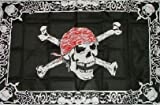UB Fahne / Flagge Pirat with Triming Piratenfahne 90 cm x 150 cm Neuware!!!