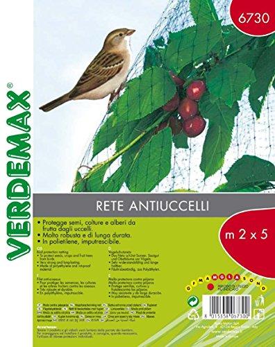 Verdemax 6730 Filet de protection oiseaux 2 x 5 m