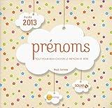 GUIDE DES PRENOMS 2013