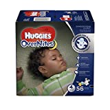 Huggies Overnites Baby Diapers, Size 4 (56 Pieces)
