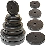 "Hardcastle Vinyl 1"" Weight Plates - Choice of Size"