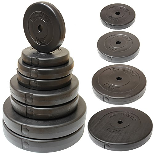 hardcastle-disque-haltere-1-en-vinyle-choix-de-taille