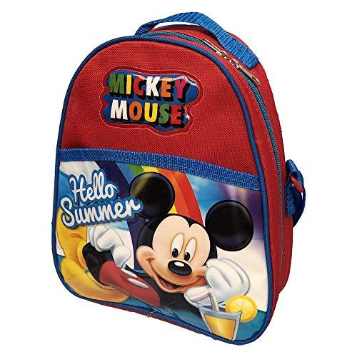 Borsa frigo zaino asilo topolino mickey mouse disney tempo libero viaggio bambino 25 cm. - wd20272