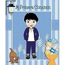 LIBRO COMUNION FIRMAS NIÑO PERRO
