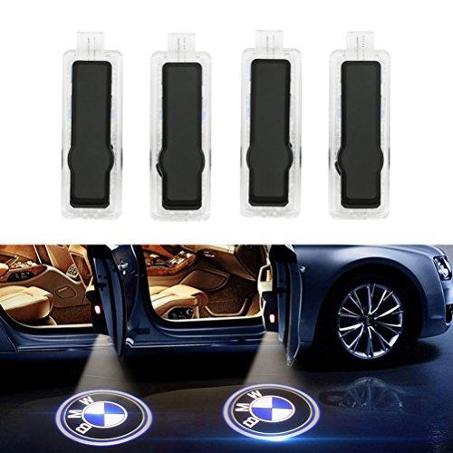 Inlink 4er-Pack Autotür Logo Licht Projektor Türbeleuchtung Einstiegsleuchte Projektion Licht