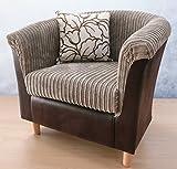 Luxury Traditional Shape Tub Chair