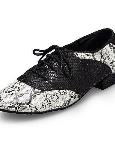 ShangYi Scarpe da ballo - Non personalizzabile - Uomo - Moderno - Senza tacco/Ballerina - Stampa/Trama - Nero black and white