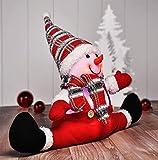 Gravidus lustige Weihnachtsfigur mit LED Beleuchtung
