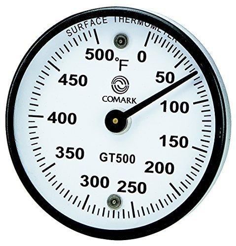 Comark Instrument GT500K Thermomètre de Surface de Grill, 0 à 500°F Par Comark