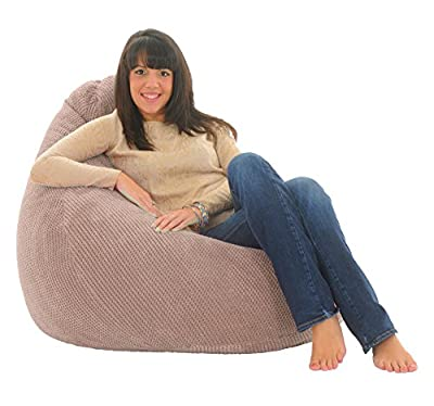 ADULT HIGHBACK - Soft & Snugly Designer Chair Bean Bag Gaming Beanbag Seat lounger
