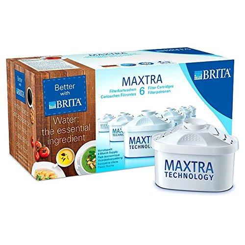 Brita Maxtra Wasserfilterkartuschen 6 pro Packung