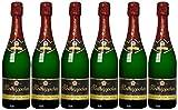 Rotkäppchen Sekt Flaschengärung Chardonnay Extra trocken (6 x 0.75 l)