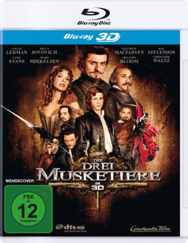 Bild von Die drei Musketiere [3D Blu-ray]