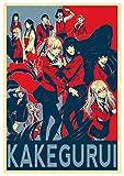 "Poster Kakegurui ""Propaganda"" Characters - Formato A3 (42x30 cm)"
