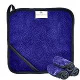 MADAMARI CARE (3 Stück!) Premium Make-Up Entferner Tuch aus Mikrofaser 23x23cm – Gesichtspflege ohne Chemie abschminken