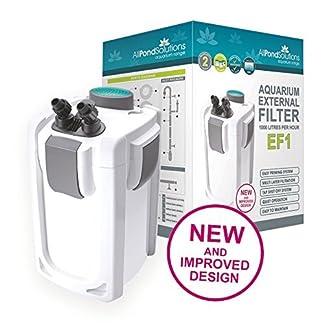 All Pond Solutions Aquarium Fish Tank External Canister Filter – FREE Media – EF1 EF2 EFX 512lGQQ2ZoL