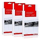3er Pack Miele Entkalkungstabletten für Kaffeevollautomaten - Klimagarer - Drucklos-Dampfgarer - Herde / 6 x 50 g