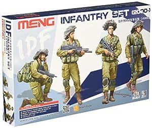 """MENG """"Modelo 01:35 FDI infantería Set 2000"""" Figuras (Multi-Color)"""