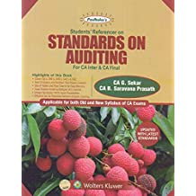 Padhuka's Students' Referencer on Standards on Auditing for CA Inter & CA Final (Applicable for Both Old & New Syllabus of CA Exams