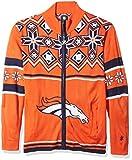 FOCO NFL Split Logo Ugly Sweater Jacket