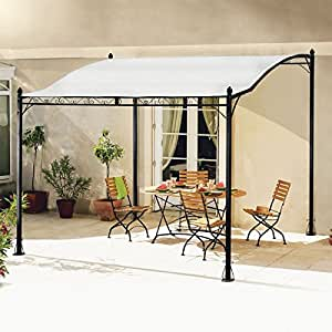 probache auvent pergola pour terrasse pm 3 x 2 5 m jardin. Black Bedroom Furniture Sets. Home Design Ideas
