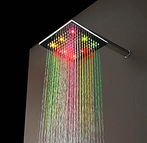 ESTAR-LINE® Große LED Duschkopf Regenbrause 7 Farben - 3