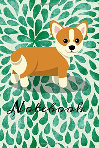 Notebook: Welsh Corgi Homework Book Notepad Notebook Composition and Journal Diary