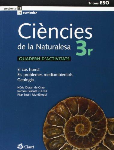 Eso 3 - Ciencies De La Naturalesa Quad. por Aa.Vv.