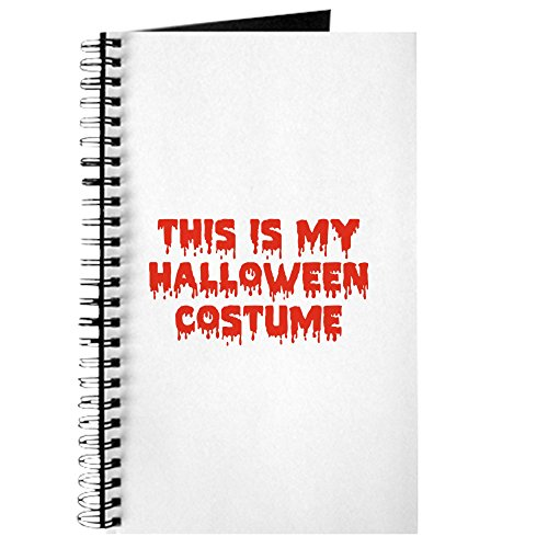 CafePress - This Is My Halloween Kostüm - Spiralgebundenes Tagebuch, persönliches Tagebuch, Punktraster (Awesome Halloween-kostüme Lustig)