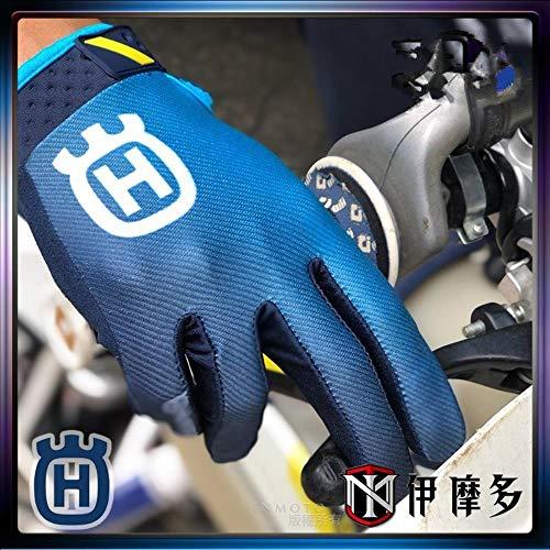 OLDK Husqvarna MX Motorcycle Gloves BMX ATV MTB off Road Motocross Mountain Bike Air Racing Cycling Gloves guantes Moto luvas,Blue,XXL
