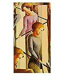 Oskar Schlemmer Szenerie auf der Treppe Poster Kunstdruck Bild 72,5x57,3cm - Germanposters