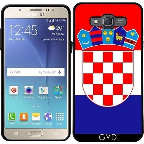 Funda para Samsung Galaxy J7 2016 (SM-J710) - La Bandera De Croacia by BruceStanfieldArtist
